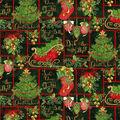 Christmas Cotton Fabric-Holiday Phrases