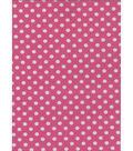 12X18in Pink Dots Felt