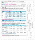 Kwik Sew Pattern K4196 Misses\u0027 Shawl Collar Vest & Coat-Size XS-S-M-L-XL
