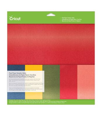 Cricut 12''x12'' Pearl Paper Sampler-Bolds