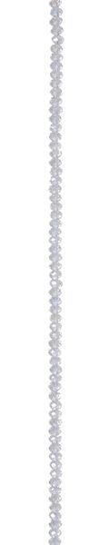 7\u0022 Bead Strands - Crystal Lavender AB Rondelles, 3 x 4mm