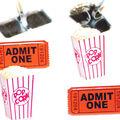 Eyelet Outlet Shape Brads-Popcorn Ticket