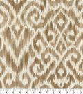 Home Decor 8\u0022x8\u0022 Fabric Swatch-Thompson Ikat Taupe
