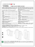 Mccall Pattern V8886 16-18-20-2-Vogue Pattern