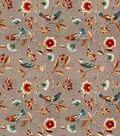 Eaton Square Lightweight Decor Fabric 54\u0022-Singer/Cinnamon & Stone