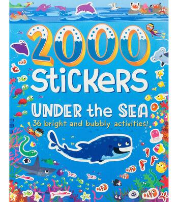 Parragon 2000 Stickers Activity Book-Under The Sea