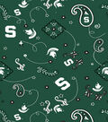 Michigan State University Spartans Cotton Fabric 43\u0022-Bandana