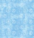 Marvel Mock Smock Fabric 21\u0022-Avengers