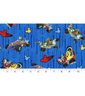 Disney Cotton Fabric -Mickey & Friends High Speed Adventure