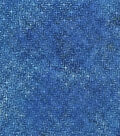 Legacy Studio Indonesian Batiks Cotton Fabric 44\u0022-Blue Squares