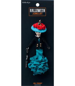 hildie & jo Halloween Doll Pendant-Cat Ana Sofia