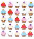 Jolee\u0027s Mini Repeats Stickers-Cupcakes