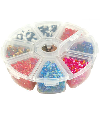 "Bead Storage Organizer Box 4"" 8/Pkg-"