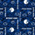 Penn State University Nittany Lions Fleece Fabric -Digital