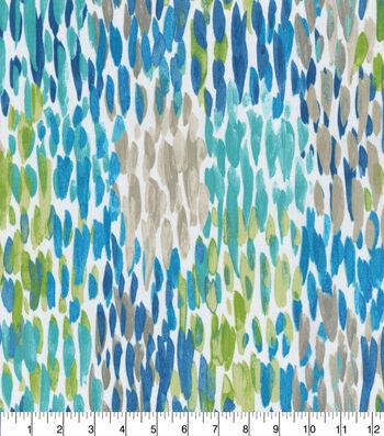 Kelly Ripa Home Outdoor Fabric 54''-Cerulean Make It Rain