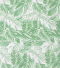 Blizzard Fleece Fabric-Sketched Palm Leaves