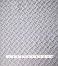 Texture Wave Twill Denim Fabric-White