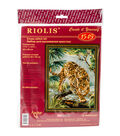 RIOLIS Counted Cross Stitch Kit 11.75\u0022X15.75\u0022-Owner of the Jungle