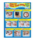 Carson-Dellosa How to Wash Your Hands Chart 6pk