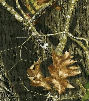 Mossy Oak Shirting Fabric 60''-Camouflage