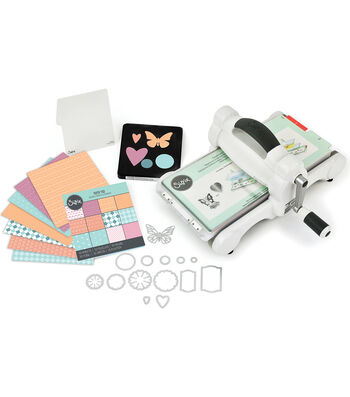 Sizzix; Big Shot Shape Cutting & Embossing Starter Kit