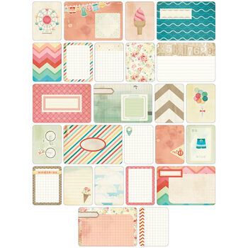 Project Life Themed Cards 60/Pkg-Summer