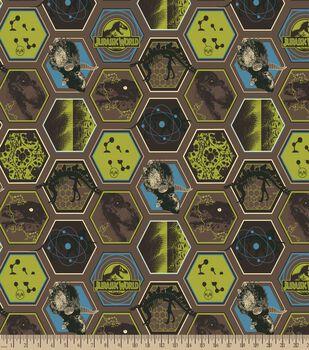 Jurassic Park Print Fabric-DNA Fusion Dino