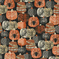 Halloween Cotton Fabric-Decorative Pumpkins