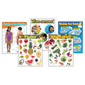 Healthy Living Learning Charts Combo Pack 5 Per Pack 2 Packs