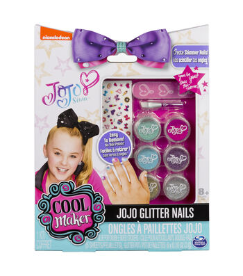 Cool Maker Jojo Siwa Glitter Nails