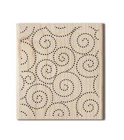 Hampton Art Cam & Chloe Mounted Stamp-Swirl Background, , hi-res