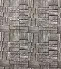 Knit Prints Rayon Spandex Fabric-Black White Box Stripe