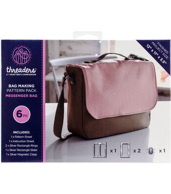 Crafter's Companion Threader's Messenger Bag Making Kit