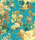 HGTV Home Upholstery Fabric-Garden Odyssey Lagoon
