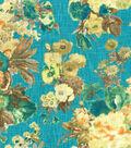 Home Decor 8\u0022x8\u0022 Fabric Swatch-HGTV HOME Garden OdysseyLagoon