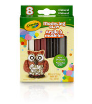 Crayola 8ct Modeling Clay-Natural, , hi-res