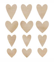 Hearts -Wood Flourishes, , hi-res