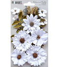 49 And Market Botanical Blends 23 pk Flowers-Snow