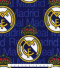 Real Madrid Football Club Fleece Fabric