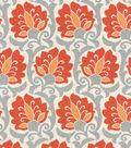 Home Decor 8\u0022x8\u0022 Swatch Fabric-Waverly Playful Prose Paprika