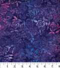 Legacy Studio Indonesian Batiks Cotton Fabric -Purple Ivy