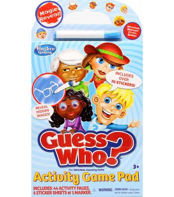 Hasbro Guess Who Game Activity Pad