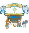 Nativity Mini Bulletin Board Set, 3 Sets