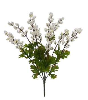 Blooming Autumn Berry Bush-White