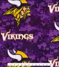 Minnesota Vikings Fleece Fabric 58\u0022-Digi Camo