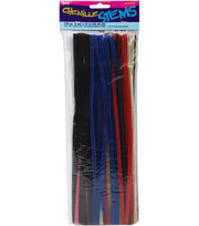 Darice 12'' 6mm Chenille Stems-100PK, , hi-res
