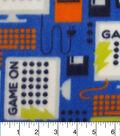 Anti-Pill Fleece Fabric 59\u0022-Game On