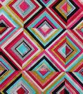 Modern Cotton Fabric -Diamond Squares