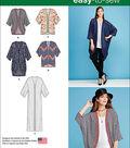Simplicity Patterns Us1108A-Simplicity Misses\u0027 Kimono\u0027S In Different Styles-Xxs-Xs-S-M-L-Xl-Xxl