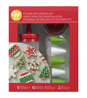 Wilton Holiday 18pc Cookie Decorating Set, , hi-res